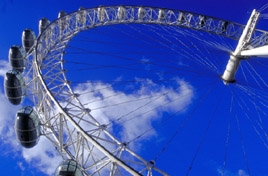 London Eye Tourist Attraction