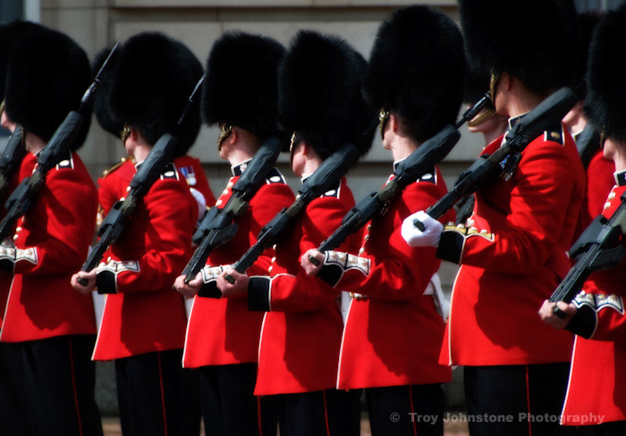 Changing the Guard at Buckingham Palace tour