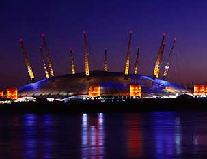Millenium dome london